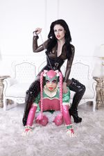 Rubberdoll with her Mistress
